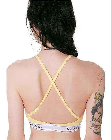 Sunshine High Neck Crop
