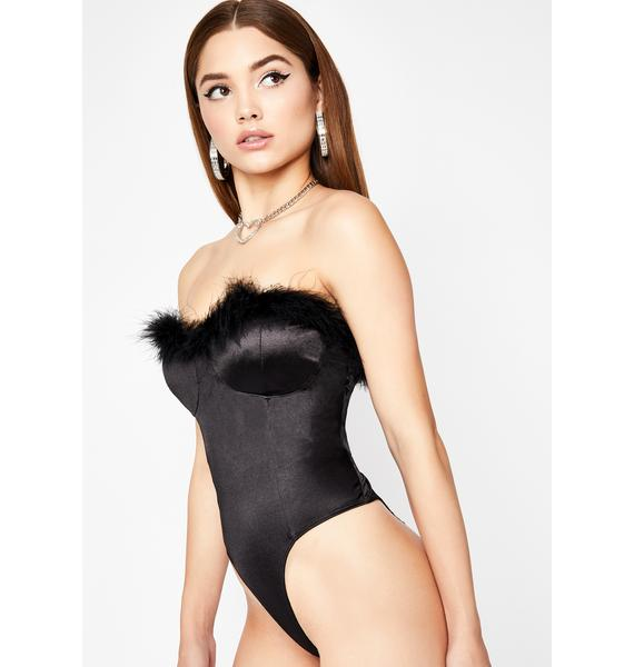 RVSP Please Strapless Bodysuit