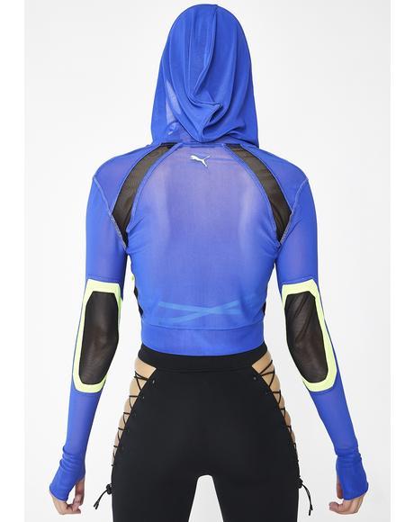 FENTY PUMA By Rihanna Mesh Track Jacket