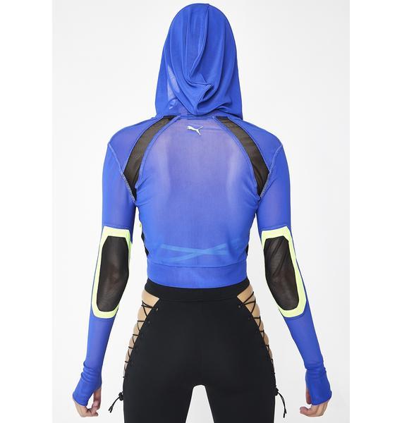 PUMA FENTY PUMA By Rihanna Mesh Track Jacket