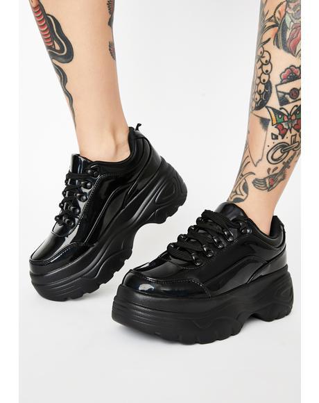 Night Striker Platform Sneakers