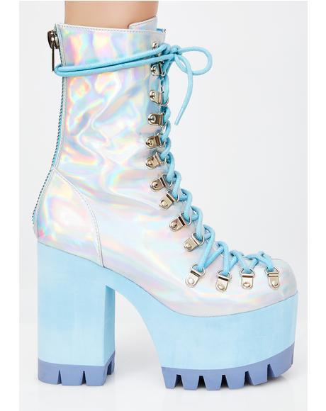 Frostbitten Platform Boots