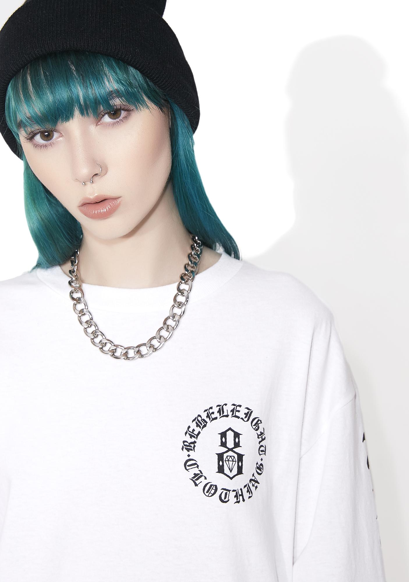 Rebel8 Immortals White Long Sleeve Tee