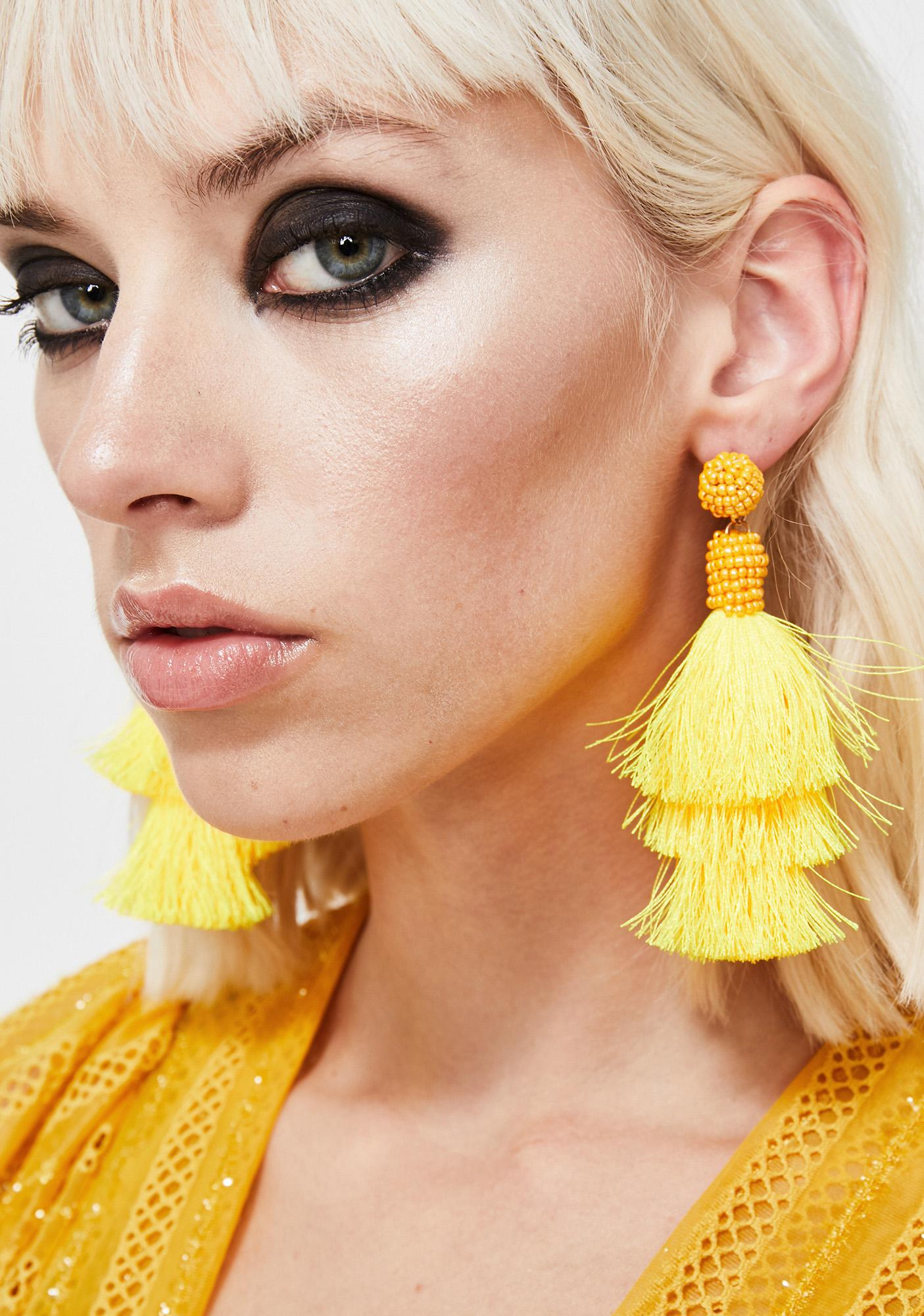 Fringe Delight Tassel Earrings
