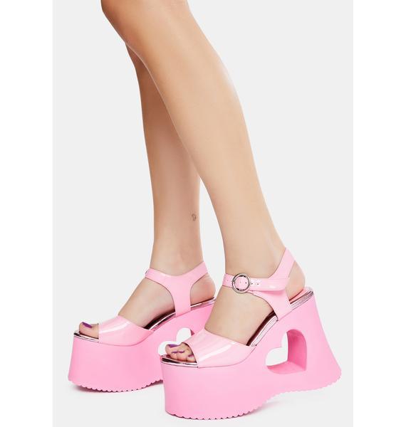 Dolls Kill x Bratz Total Charmer Platform Sandals