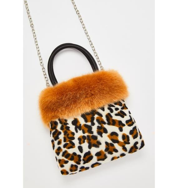 Current Mood Feisty Flirt Leopard Handbag
