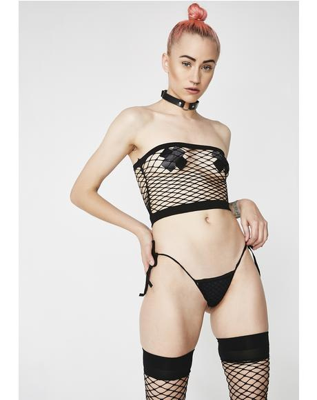 Freak Like Me Fishnet Stocking Set