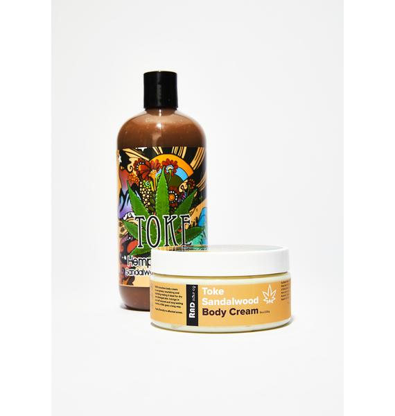 Rad Soap Co. Toke Hemp & Hippie Body Cream