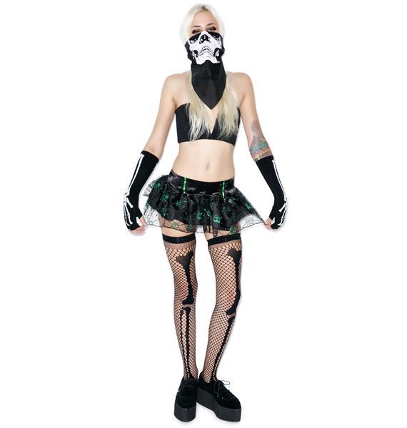 Lip Service Cruella Deville Tutu Skirt