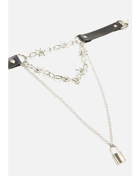 Against The Rules Chain Choker