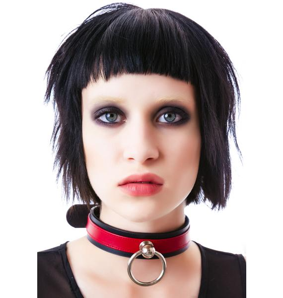 Saddle Stud O Ring Choker