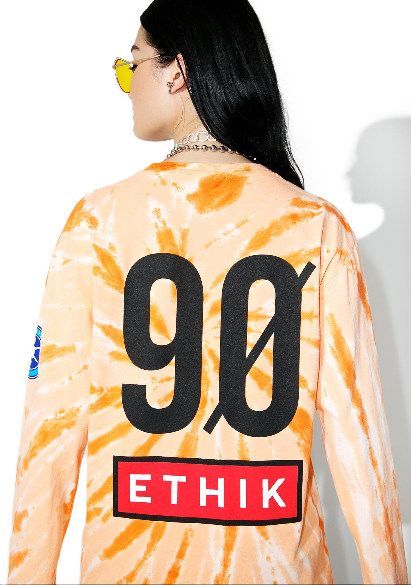 ETHIK Trippy Sport Long Sleeve Tee