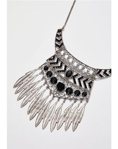 Dancin' In The Dark Gypsy Necklace