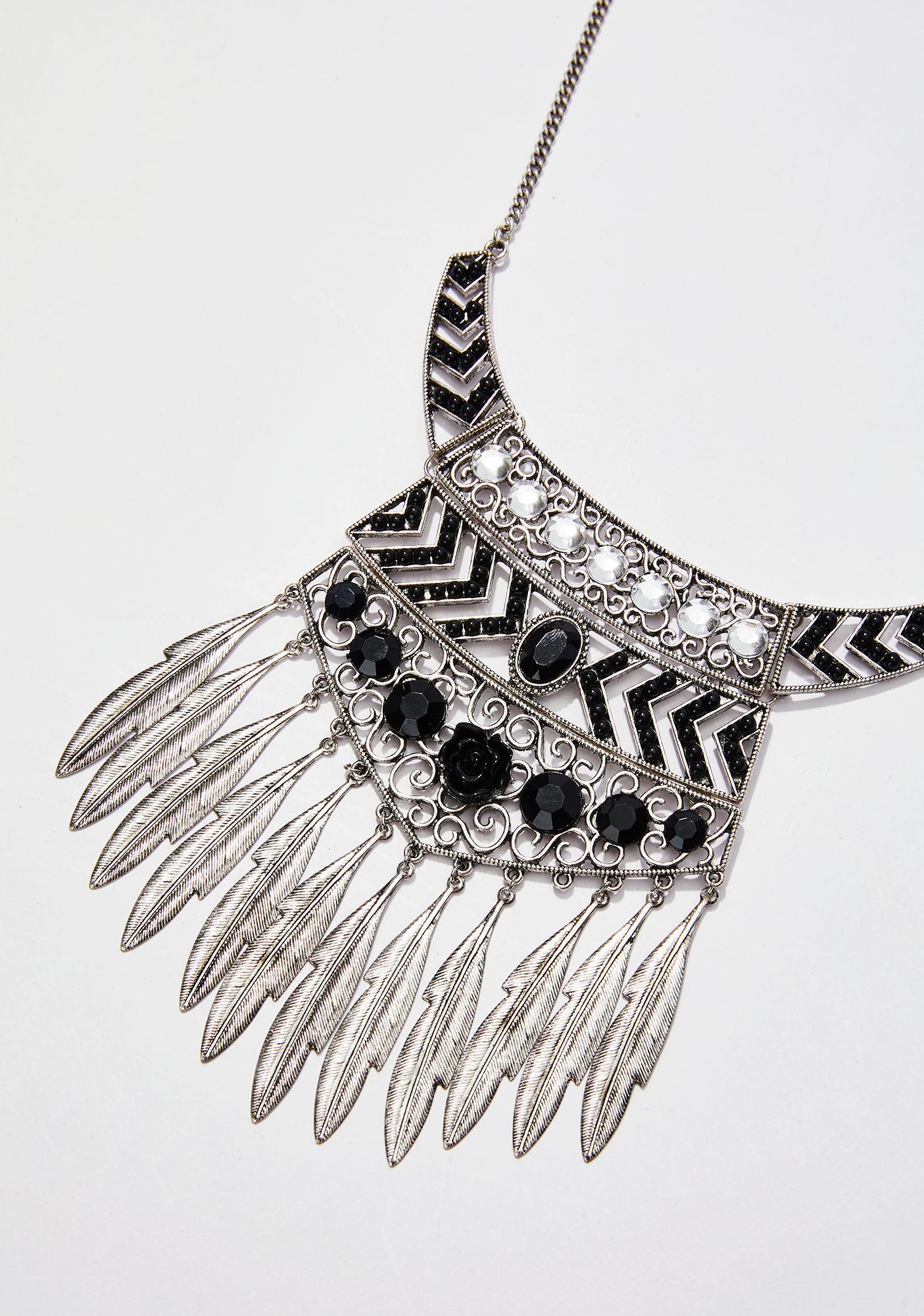 Dancin' In The Dark Gypsy Necklace
