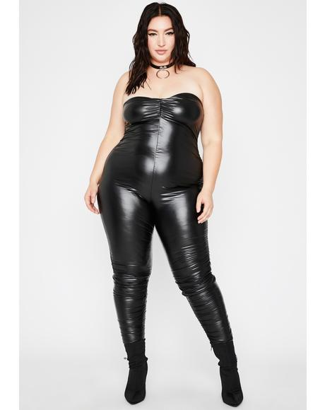Break Me Off Ruched Catsuit