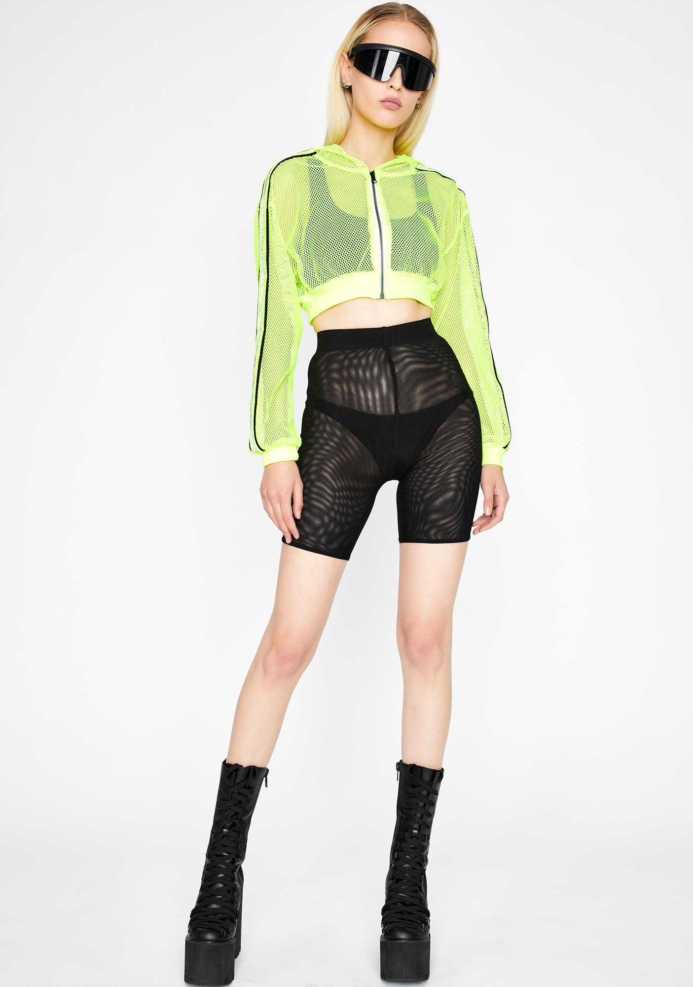 Reflective Flexx Crop Jacket