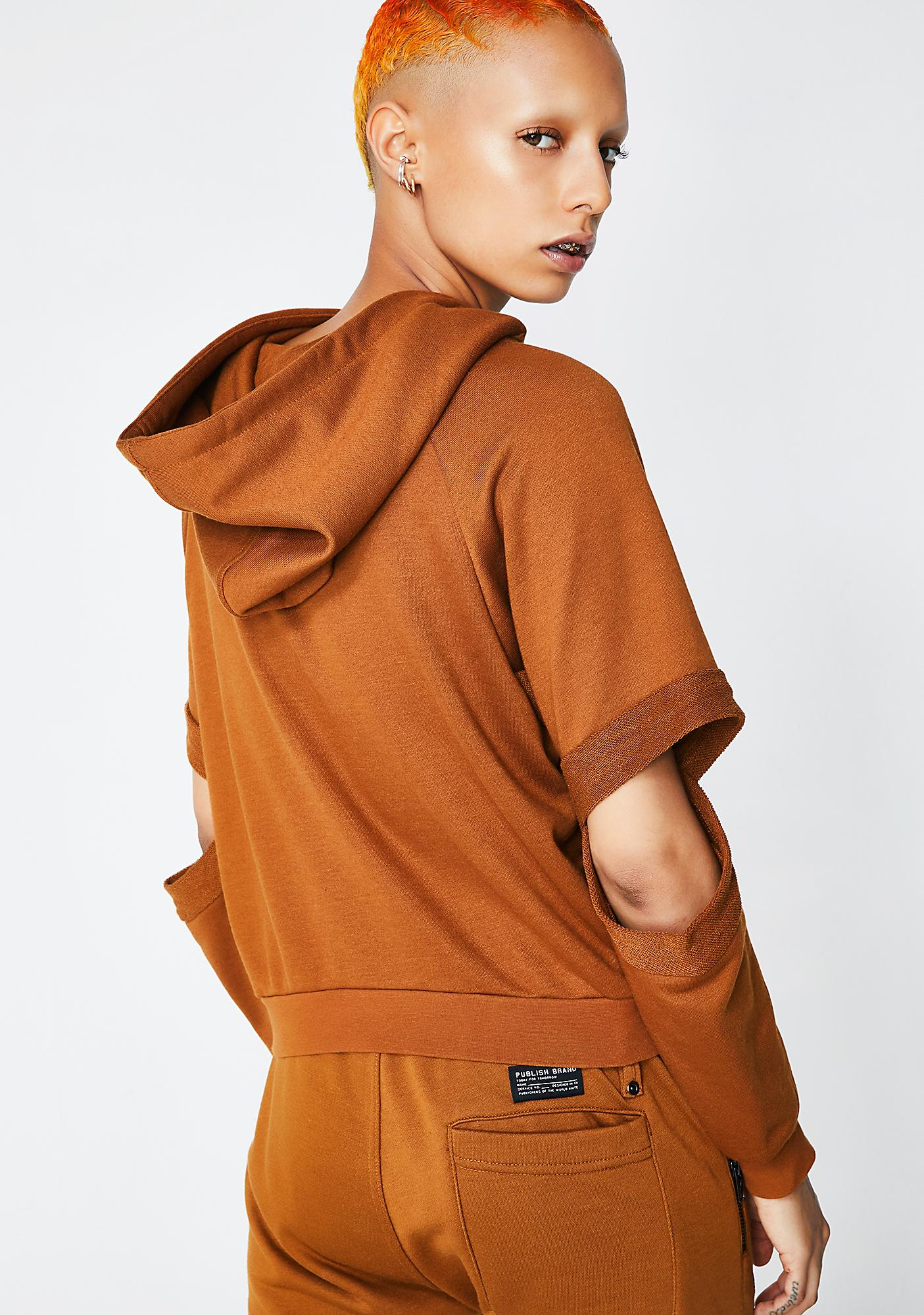 Publish Lucia Cropped Hoodie