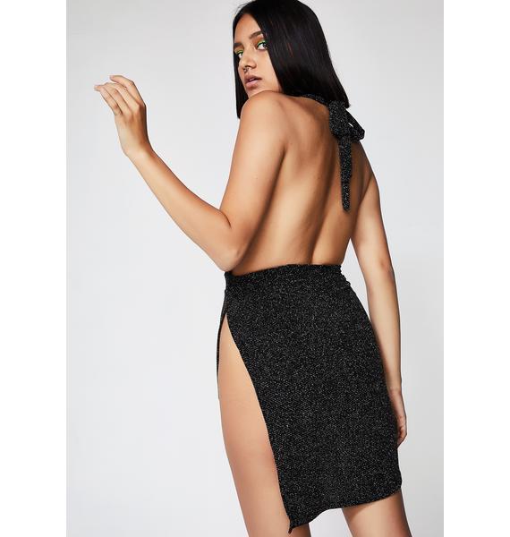 Slip It On Shimmery Dress