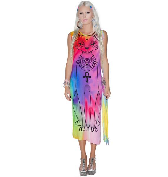 Killstar Purrfecta Bast Maxi Dress