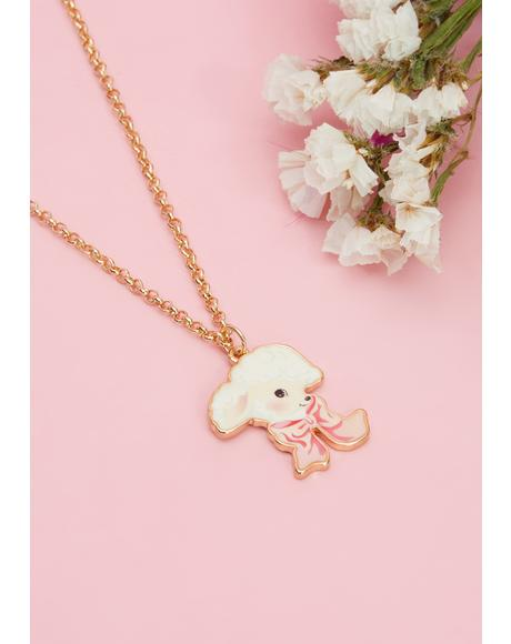 Furry Friends Charm Necklace