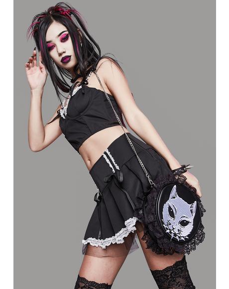 Unfair Maiden Pleated Mini Skirt