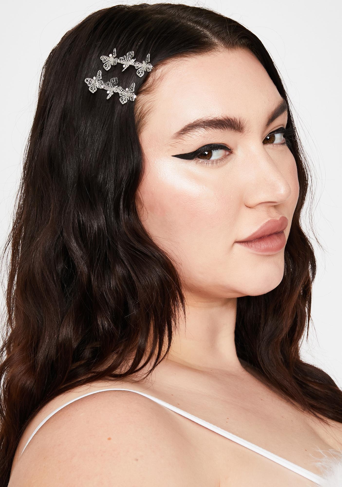 Monarch Mistress Hair Clips