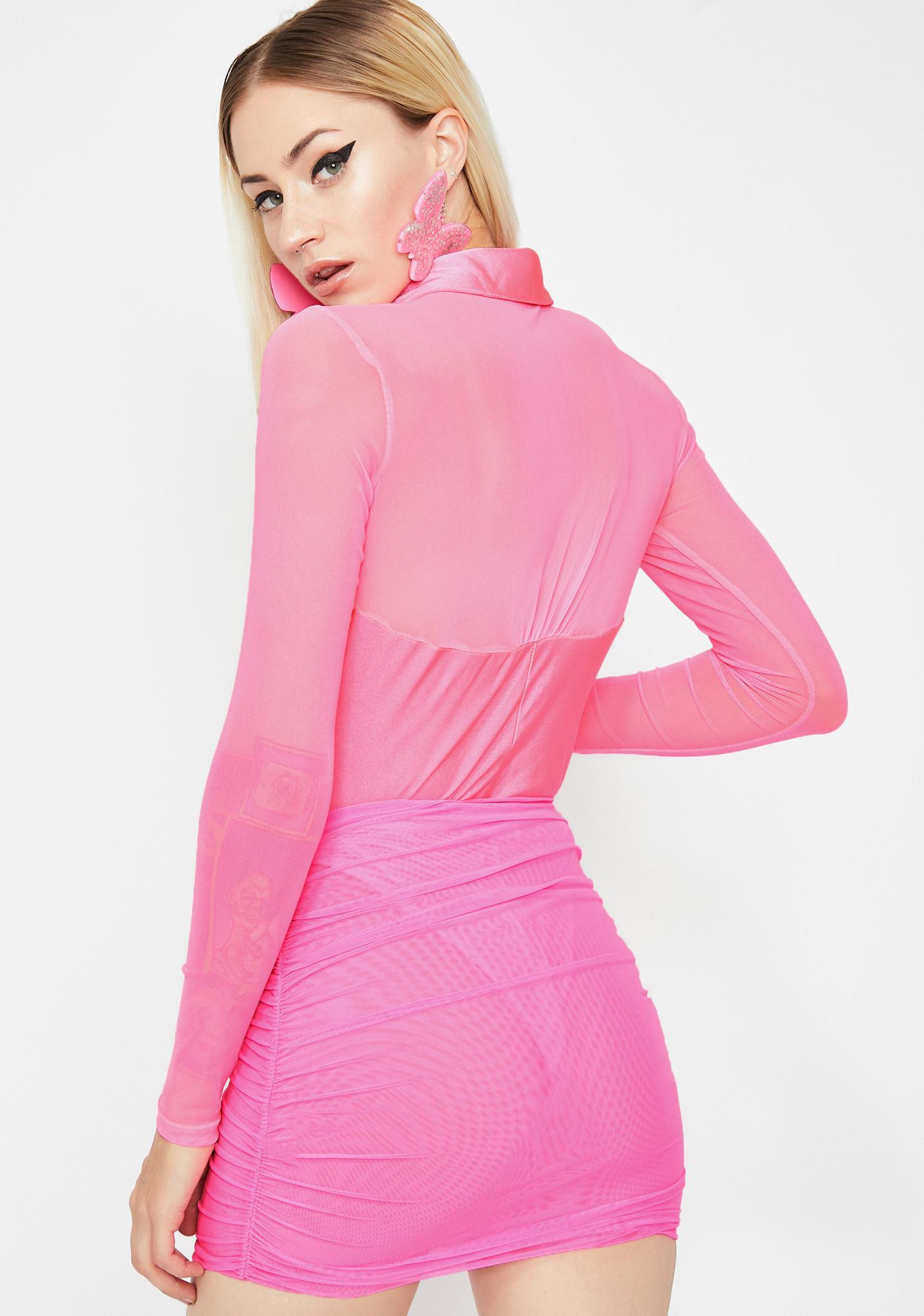 Electrik Vixen Polo Bodysuit