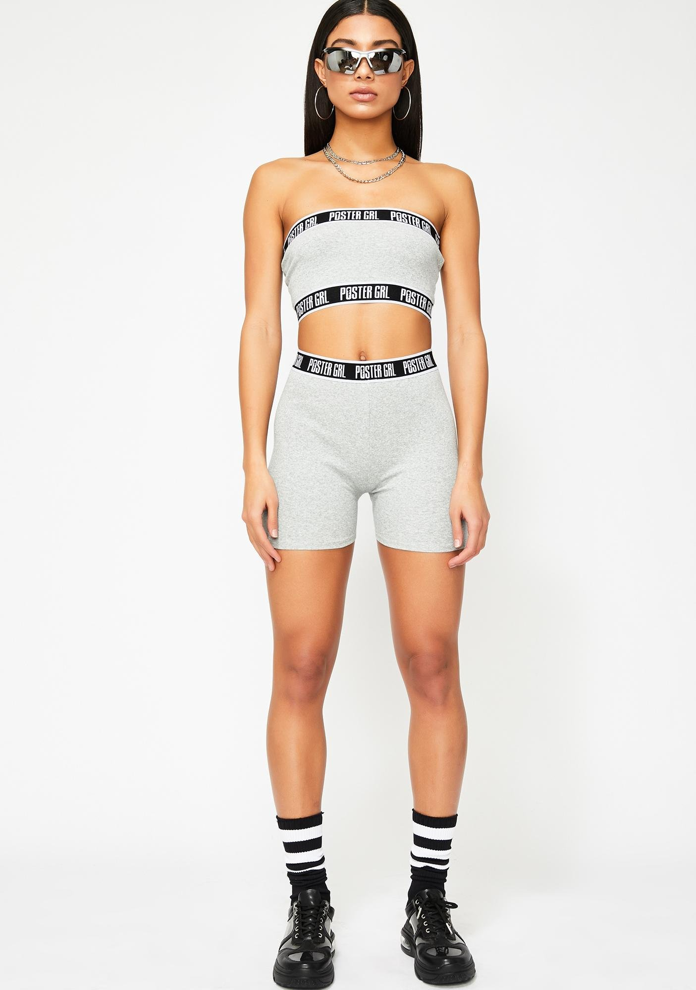 Poster Grl Boss Mode Biker Shorts