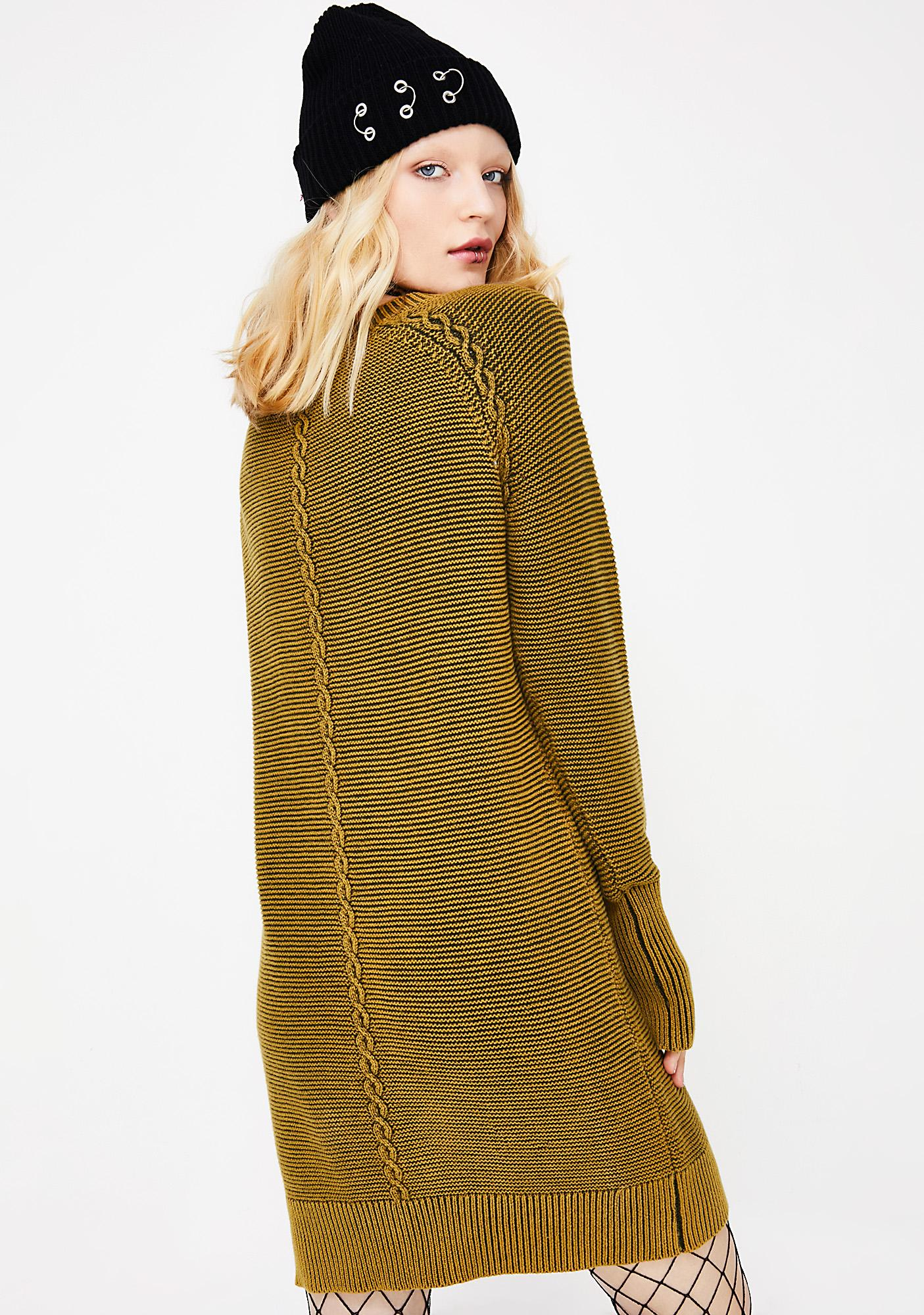 In A Twist Longline Sweater