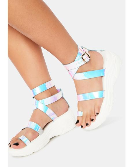 Prism Walk That Walk Platform Gladiator Sandals