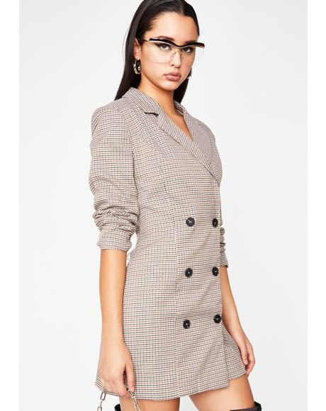 Major Bish'ness Blazer Dress