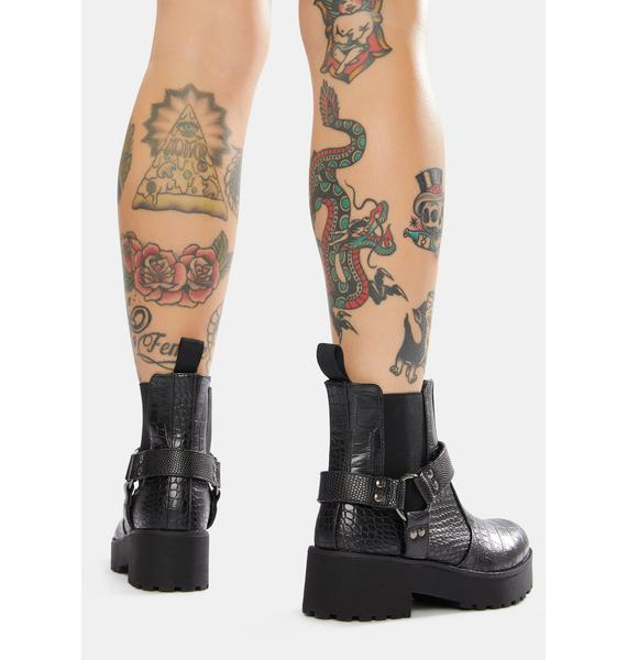 Dirty Laundry Make It Harness Boots