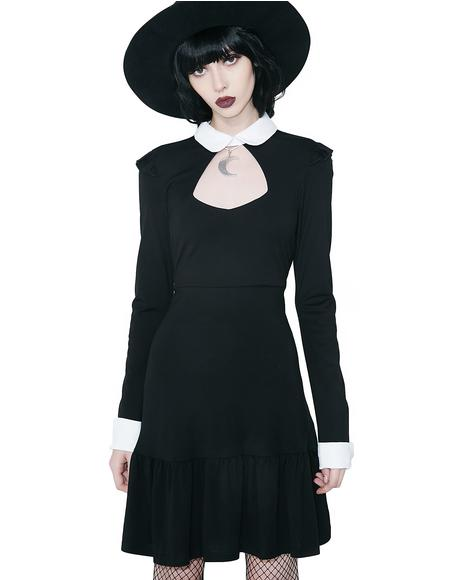 Mystic Mia Collar Dress