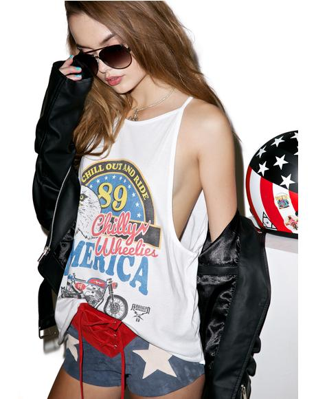 Chill Out And Ride Tank Top
