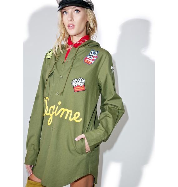 Civil Clothing Nixon Hooded Coat