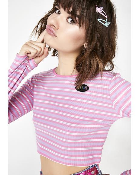 Blushin' Sk8ter Girl Crop Top