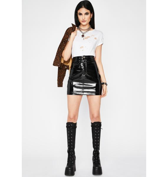 Haute Attractions Mini Skirt