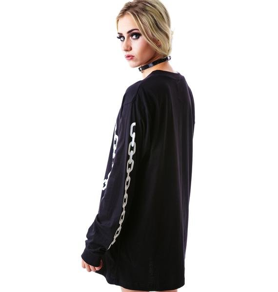Long Clothing x Mishka Chain Long Sleeve Tee