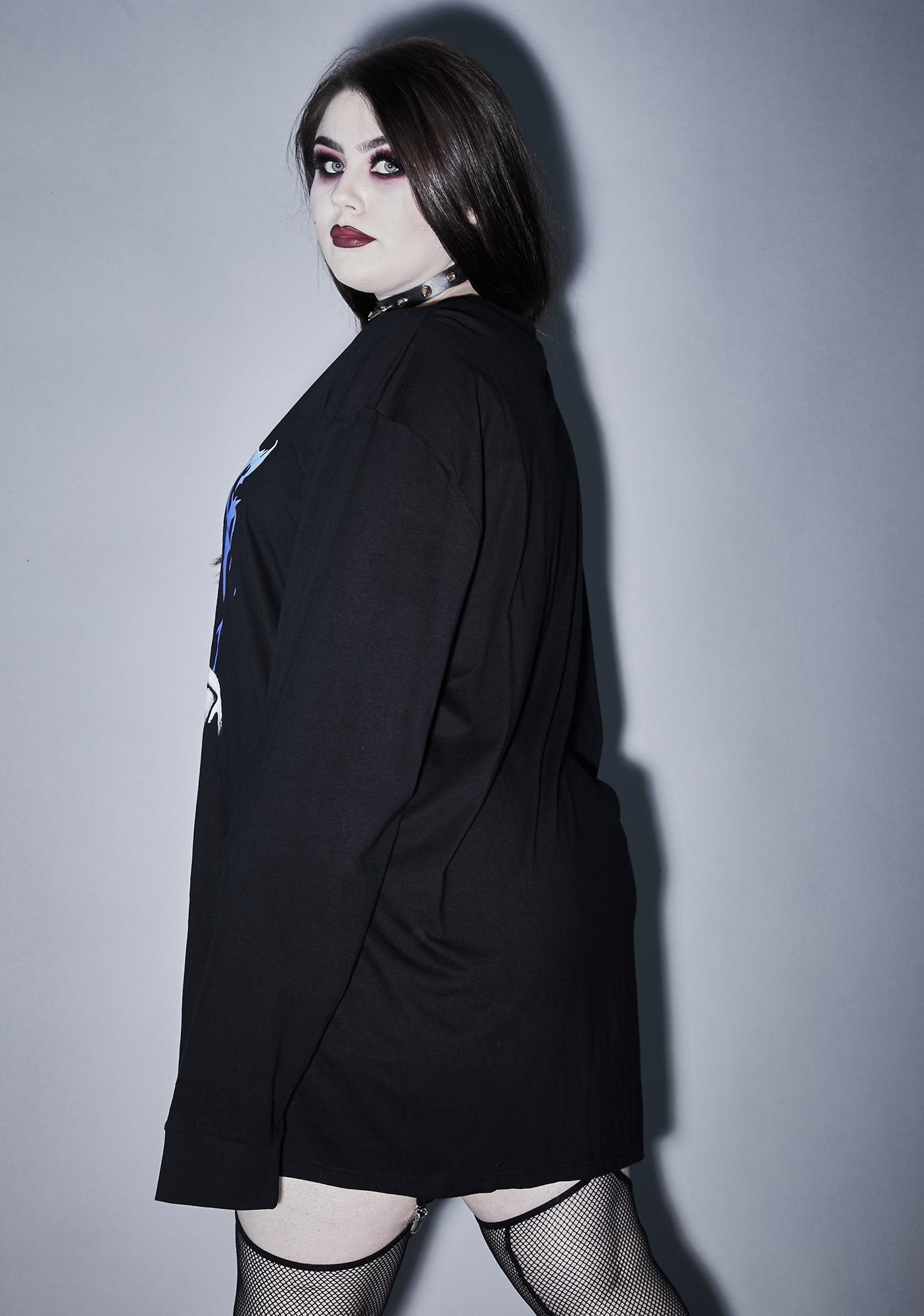 Widow Unholy Gloomy Mournings Long Sleeve Tee