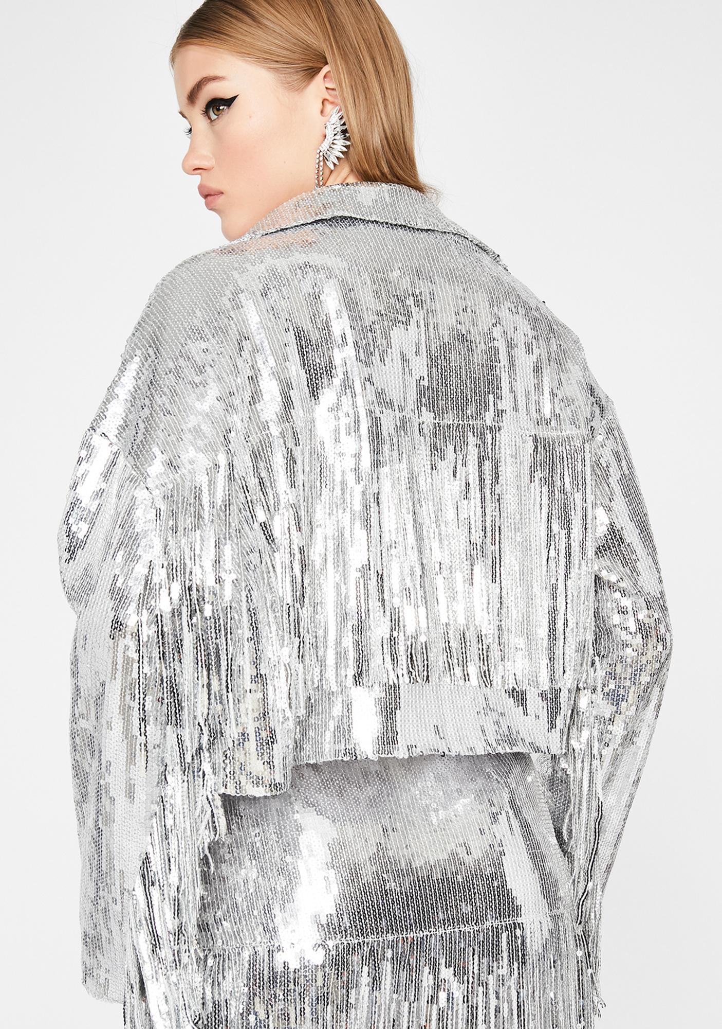 Blindin' Baddie Sequin Jacket