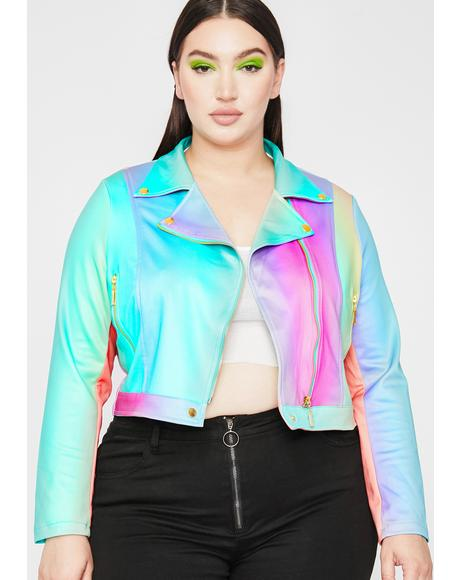 That Funky Rich Grl Moto Jacket
