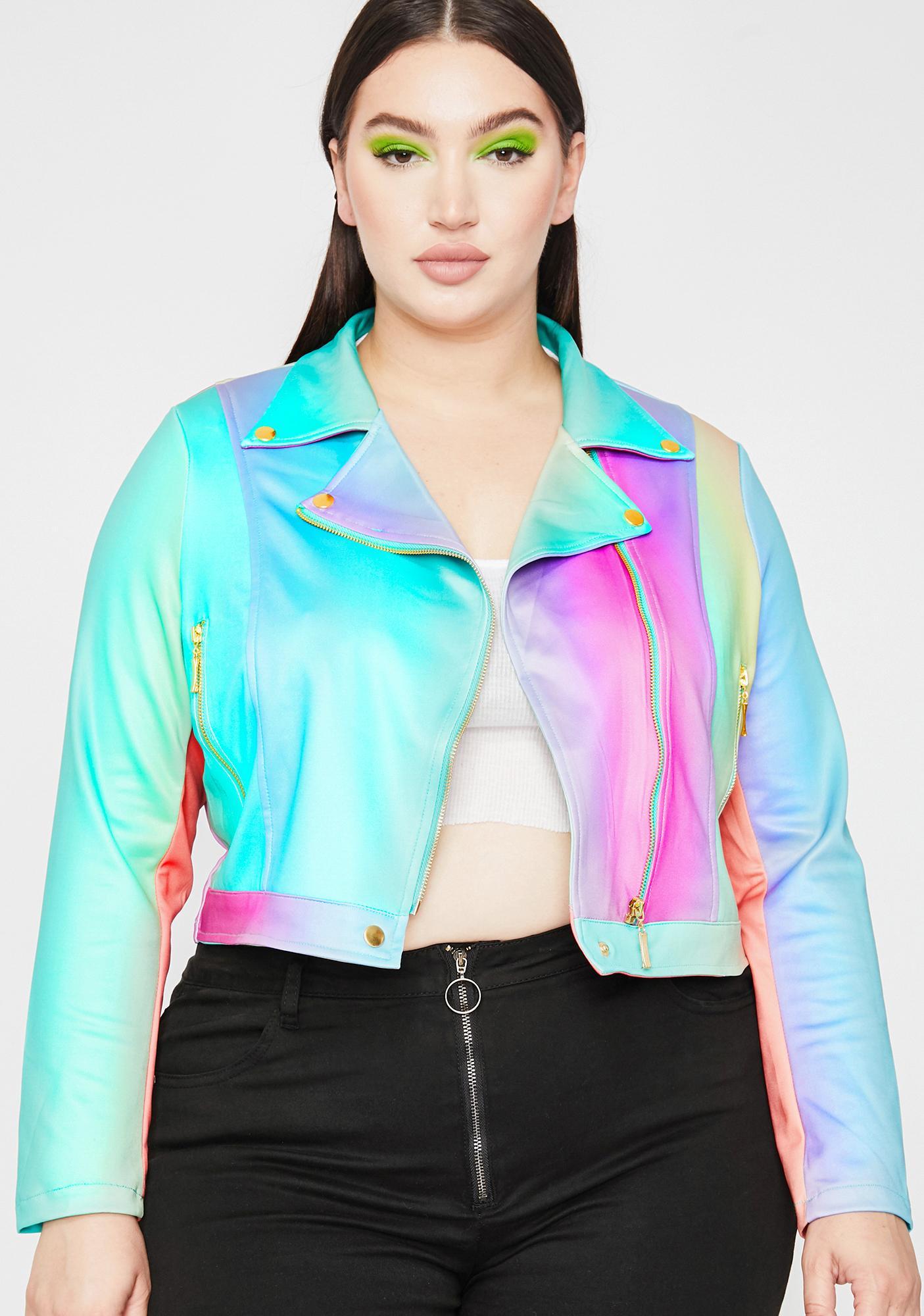 That Funky Rich Grl Moto Jacket