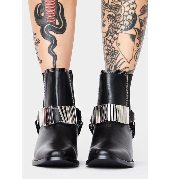 Rebels Pacey Ankle Boots