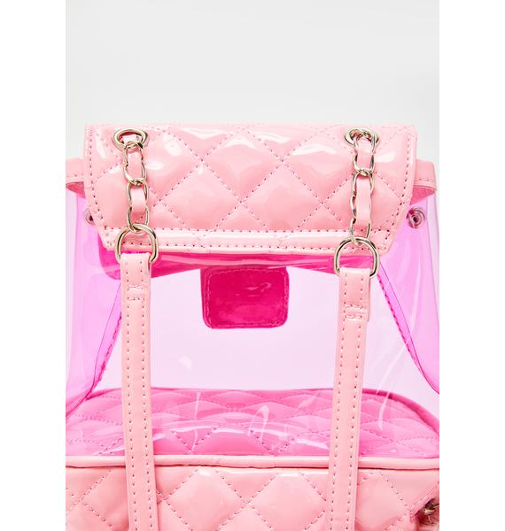 Sugar Thrillz The Heiress Life PVC Backpack