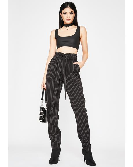 Goin' Downtown Pinstripe Pants
