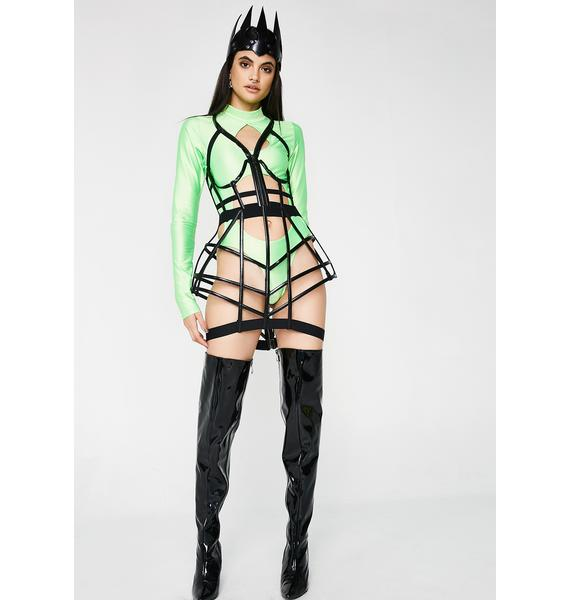 Kiki Riki Futurizm Fatale Cage Skirt