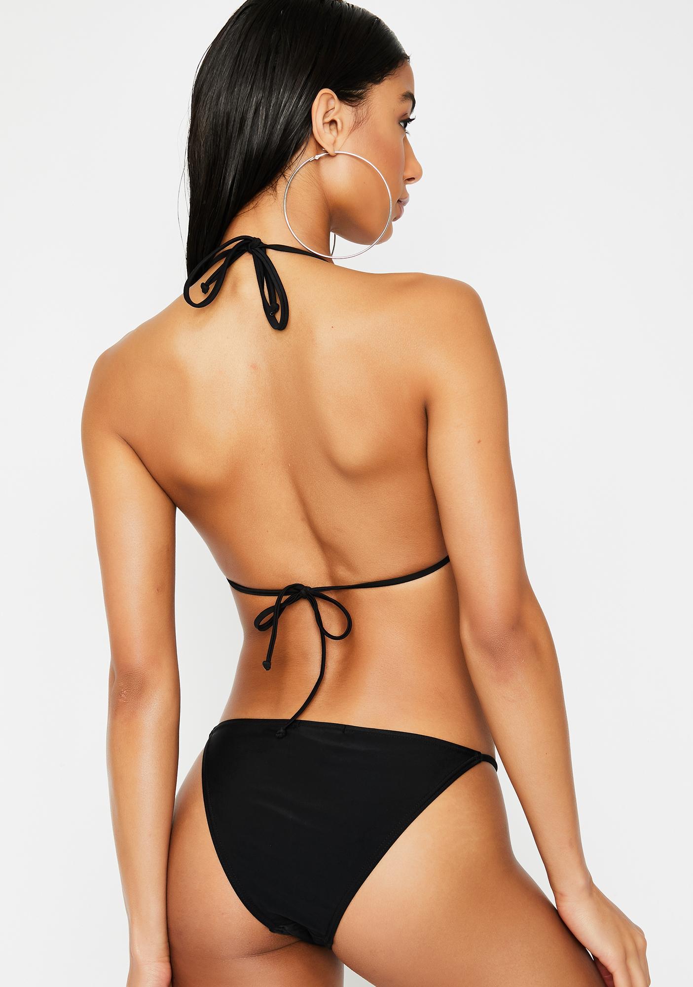 Poster Grl Risque Reign Rhinestone Bikini Set