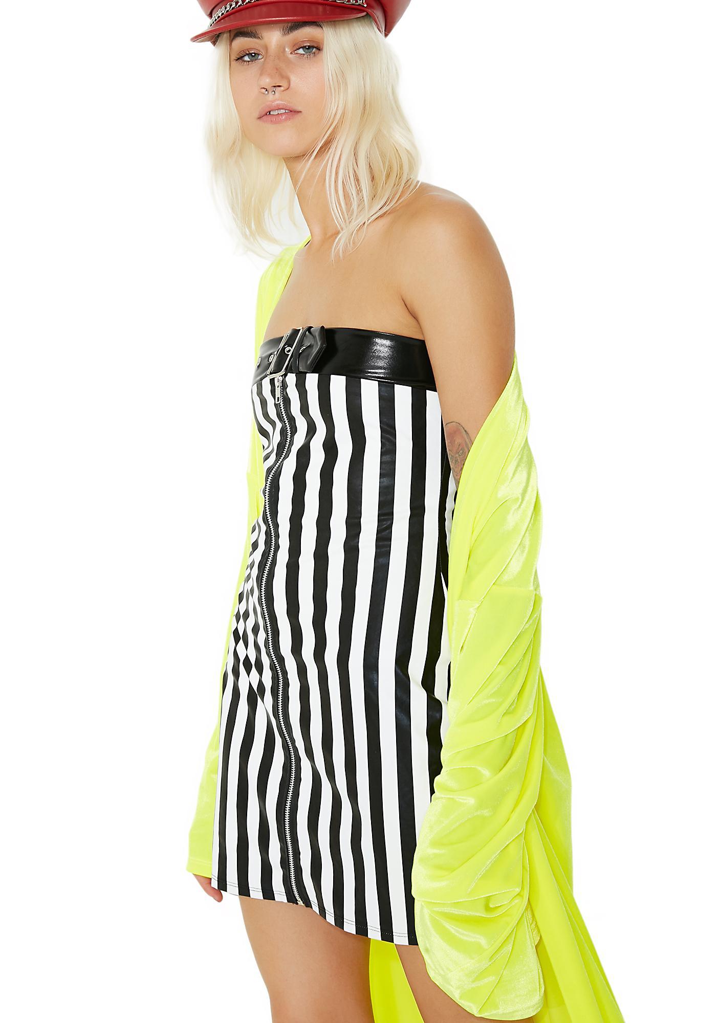 Jaded London Bandeau Mini Dress