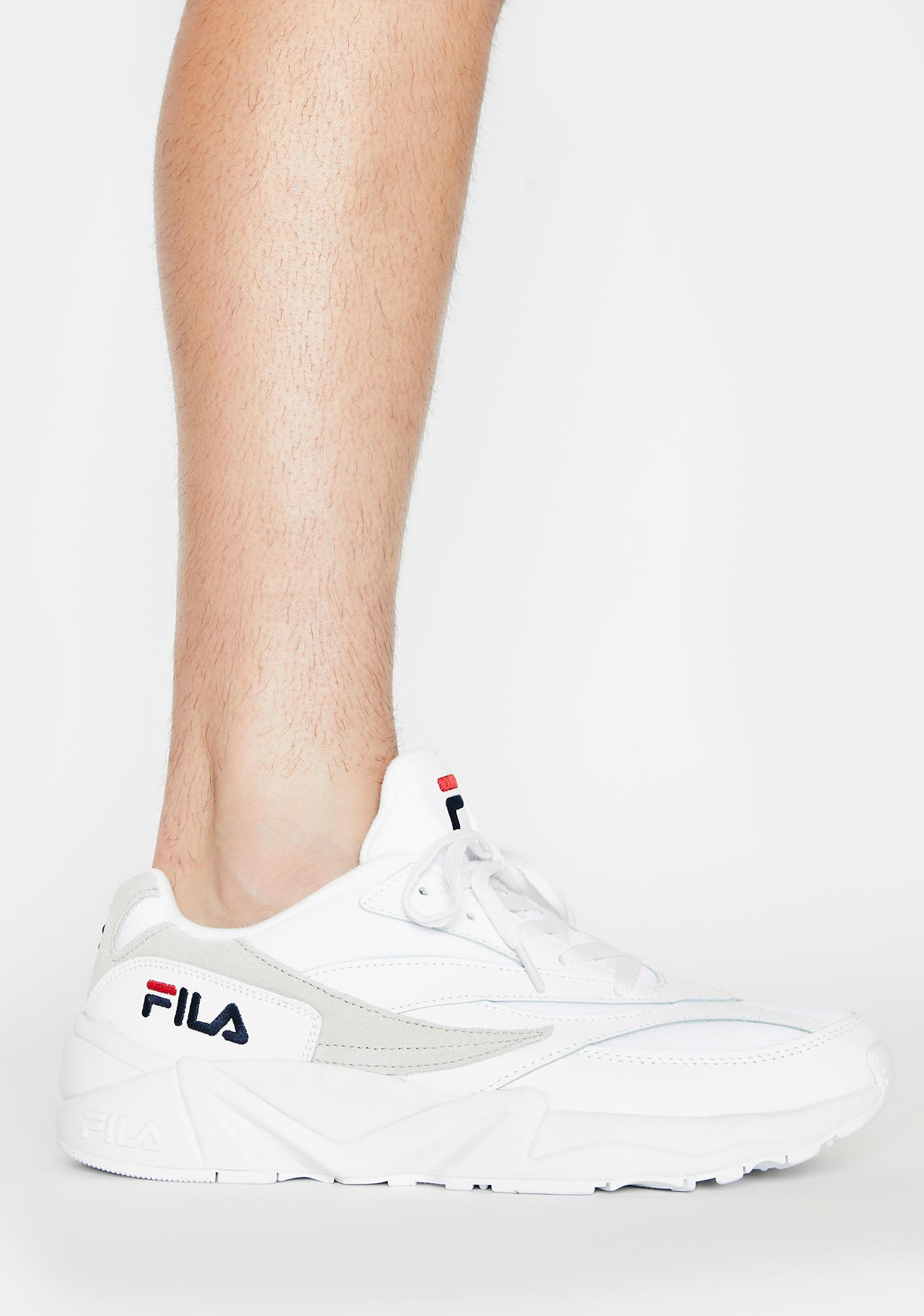 Fila Unisex White V94M Sneakers