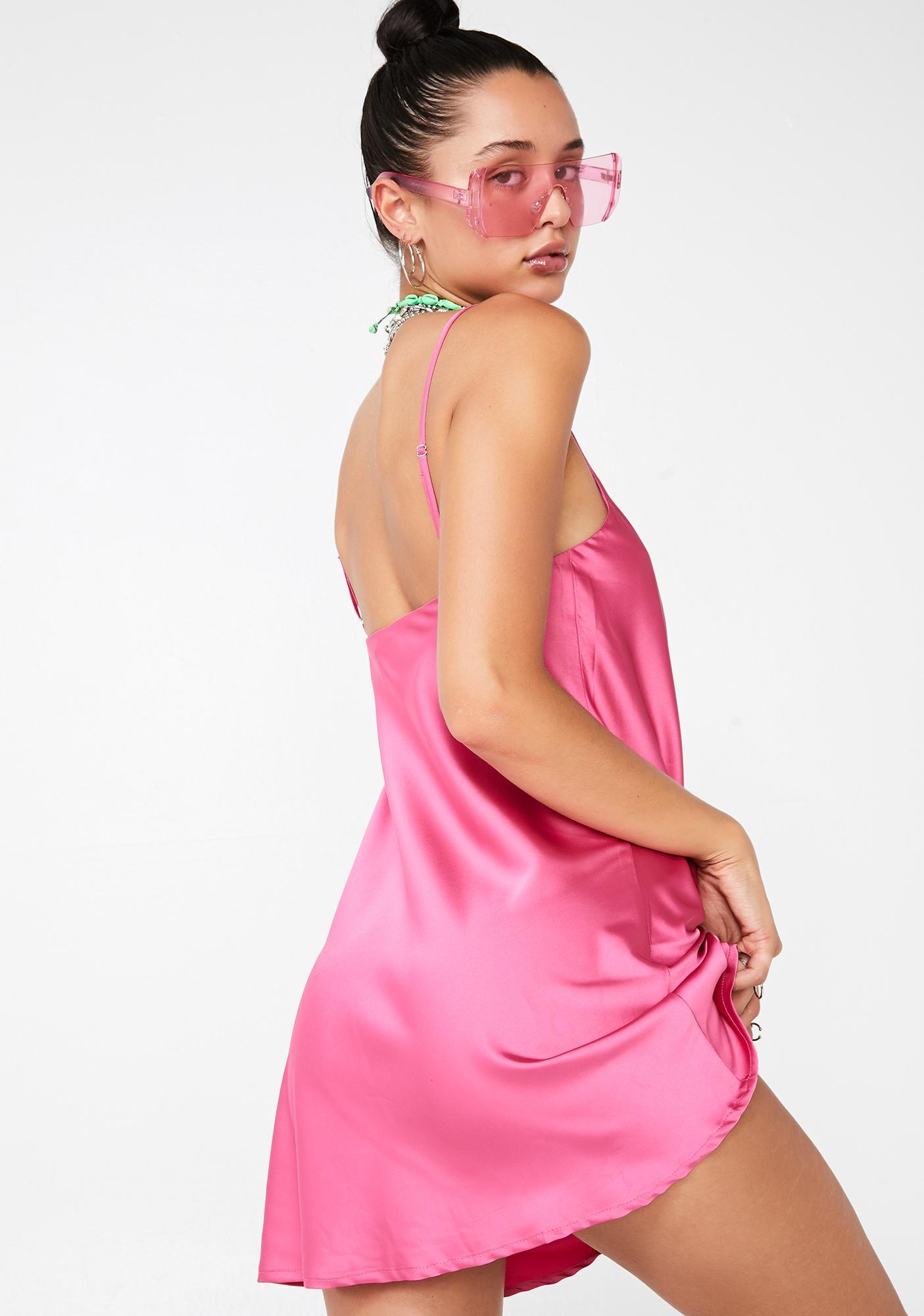 Flawless Flair Slip Dress